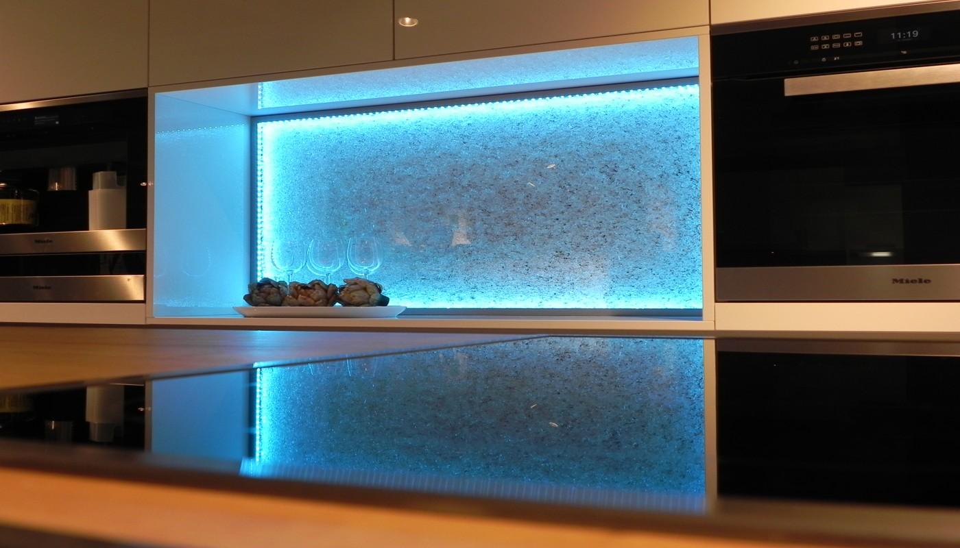 Glaszone-Kristallglaselemente das gewisse Funkeln im Raum - Kober Glass